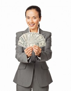 woman-holding-fan-of-money