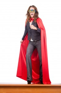 super woman in business