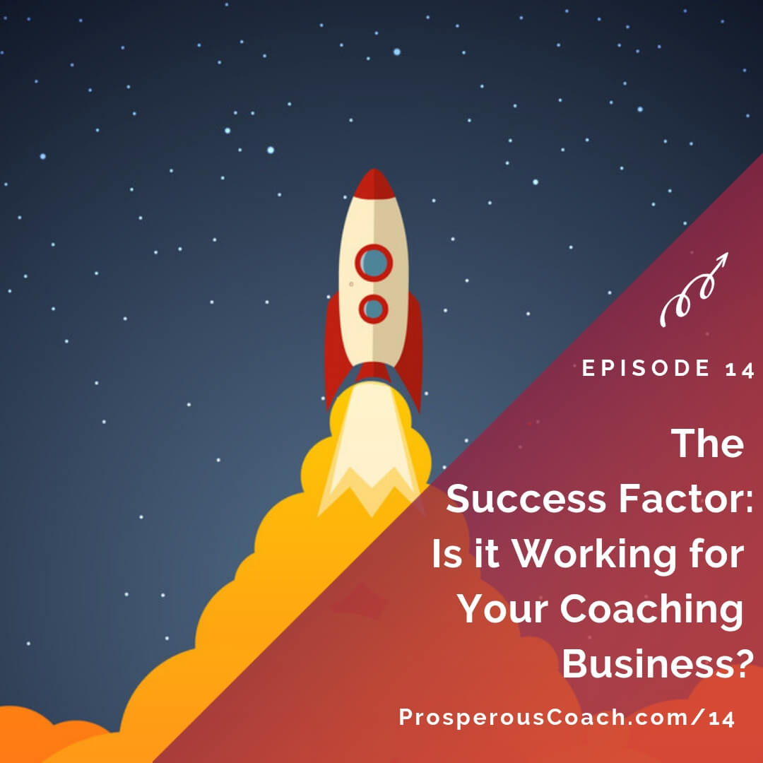 The Success Factor-Is It Working for Your Coaching Business? - IG
