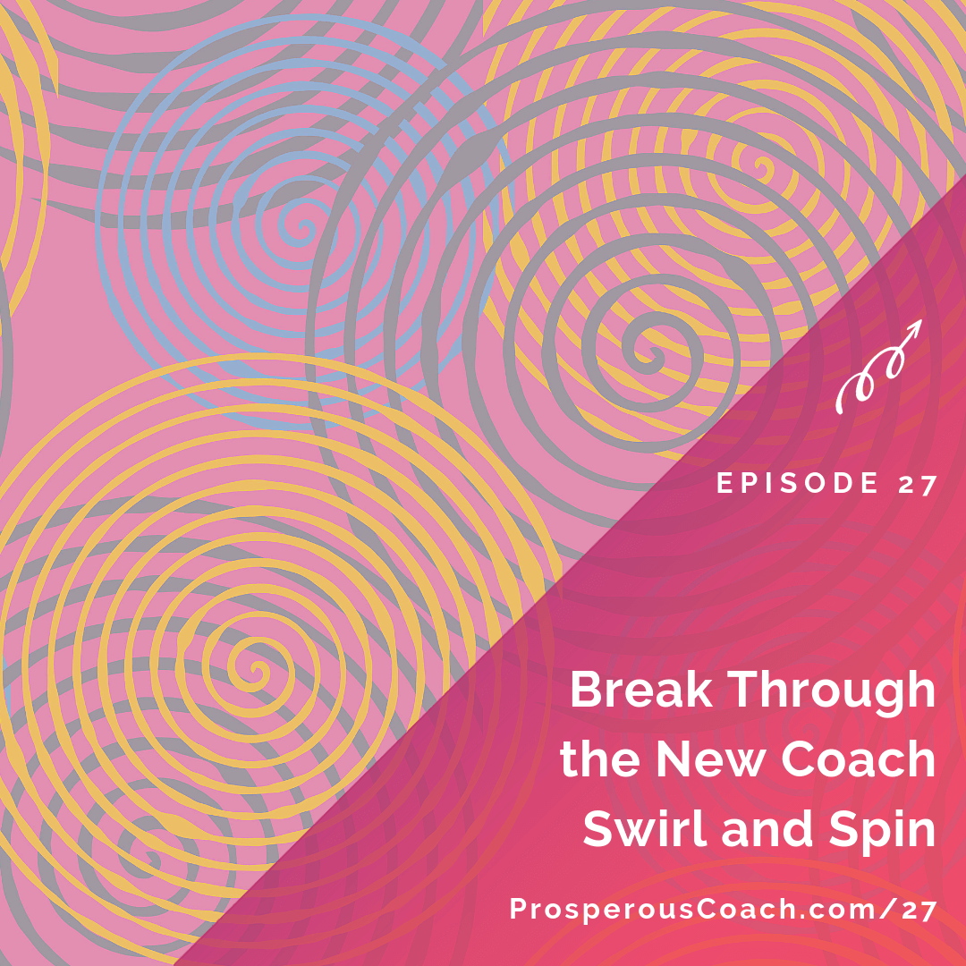Break Through the New Coach Swirl and Spin