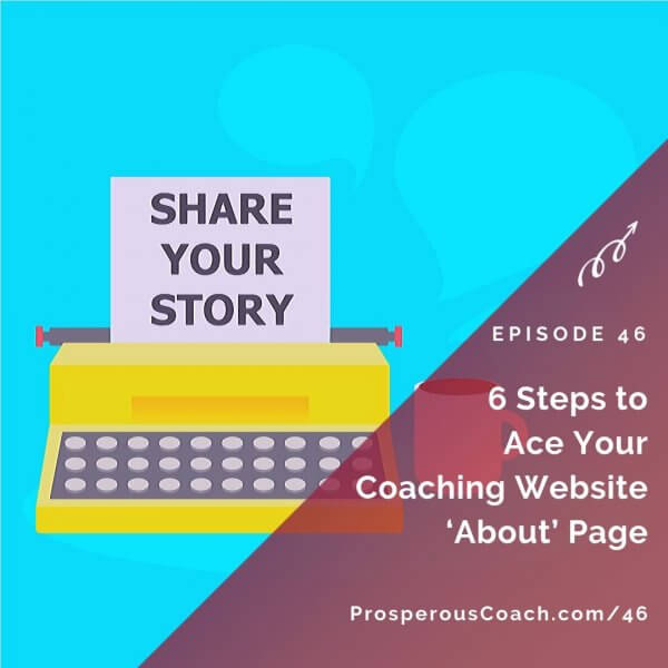 6 Steps to Ace Your Coaching Website 'About' Page – IG